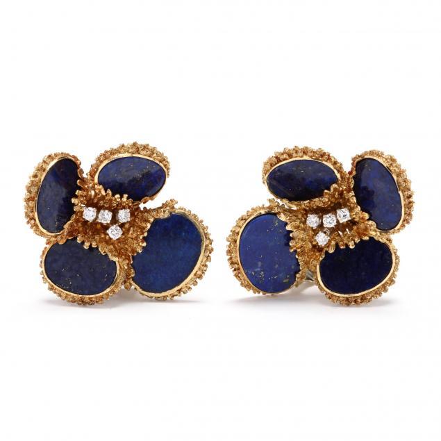 18kt-lapis-and-diamond-earrings