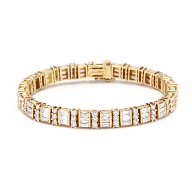 18kt-gold-and-diamond-bracelet-jean-vitau