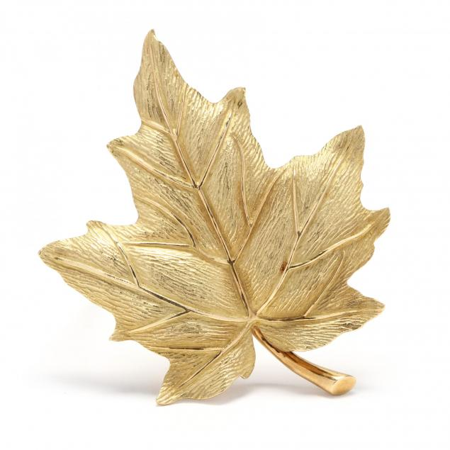 18kt-gold-maple-leaf-brooch-tiffany-co