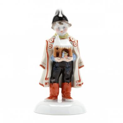 herend-natural-porcelain-figurine-of-a-young-boy