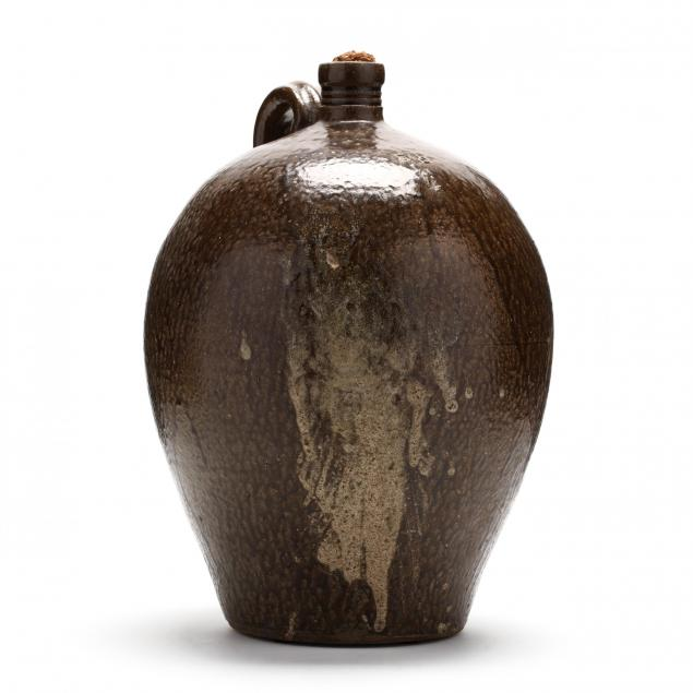 western-north-carolin-pottery-daniel-seagle-lincoln-county-1805-1867-four-gallon-jug