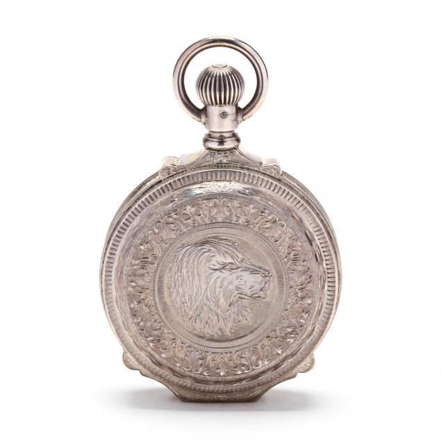 antique-coin-silver-hunter-case-john-c-dueber-special-pocket-watch-hampden