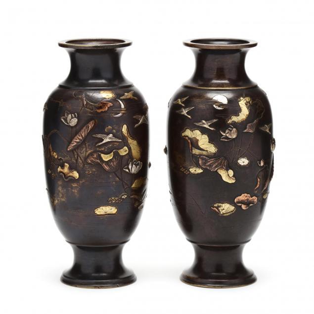 a-pair-of-nogawa-bronze-japanese-vases