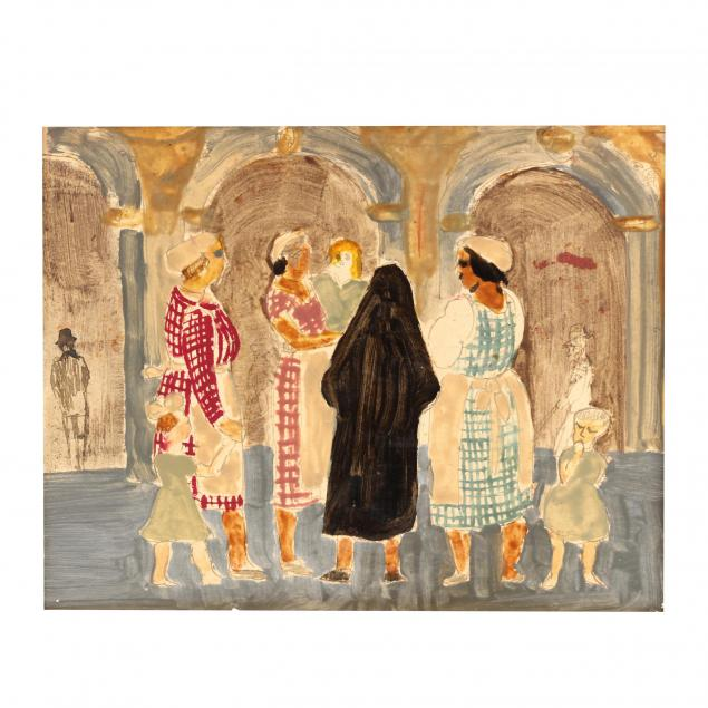 att-charles-demuth-pa-1883-1935-figural-study