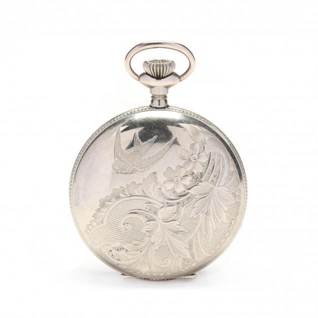 antique-silverode-hunter-case-pocket-watch-south-bend-watch-co