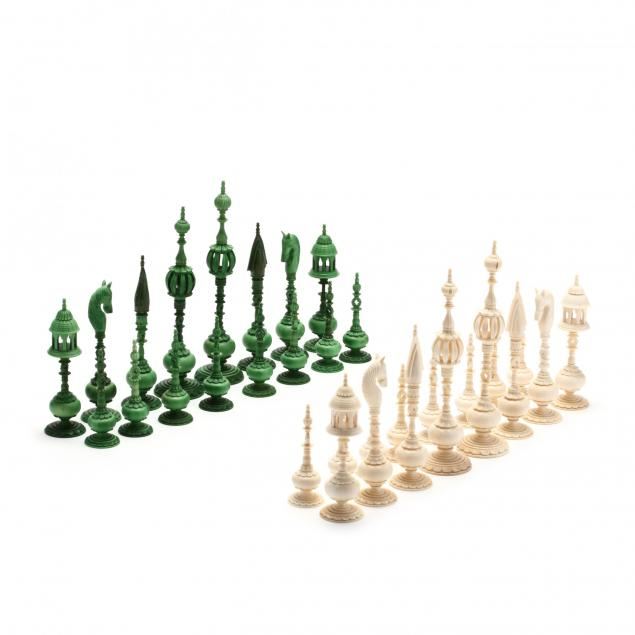 oleg-raikis-russia-20th-century-chess-set-after-samuel-pepys-in-mammoth-ivory