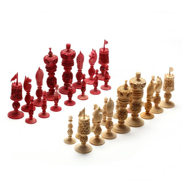 imposing-antique-ivory-chess-set-made-in-asia