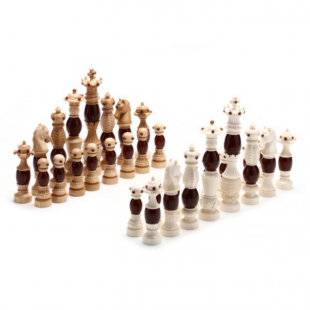 oleg-raikis-russia-20th-century-baroque-mammoth-ivory-and-amber-chess-set
