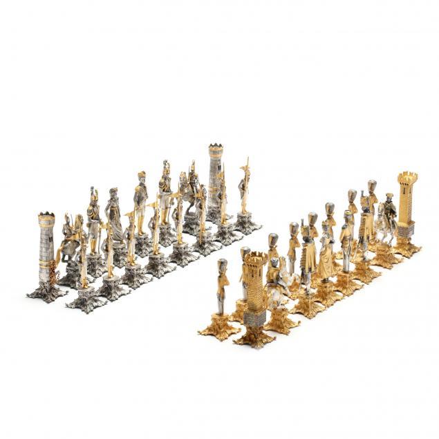 giuseppe-vasari-battle-of-waterloo-chess-set