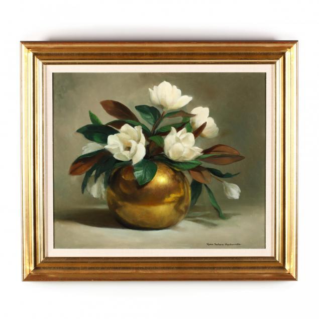 lynn-aylesworth-american-20th-21st-century-i-magnolias-i