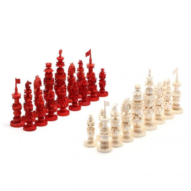 oleg-raikis-russia-20th-century-kashmir-style-chess-set-carved-from-mammoth-ivory
