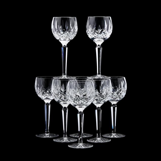 waterford-set-of-eight-i-lismore-i-wine-goblets