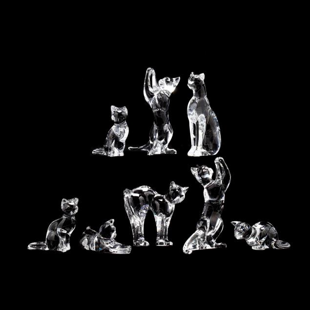 eight-baccarat-crystal-cats
