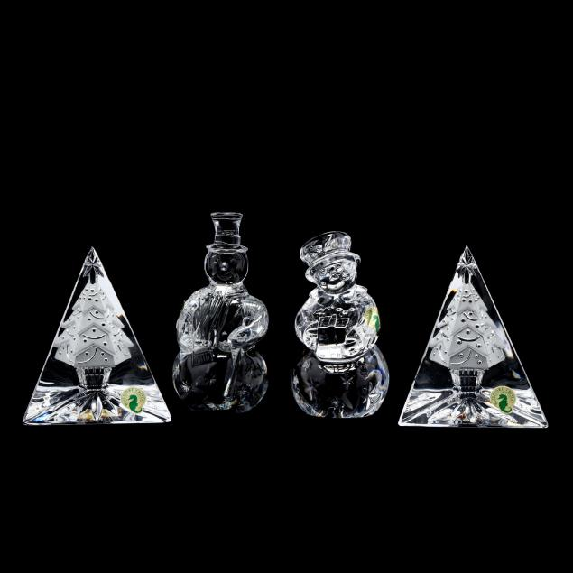 waterford-four-crystal-christmas-themed-figures