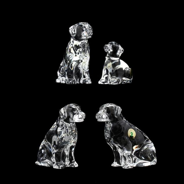 waterford-four-crystal-labrador-retrievers