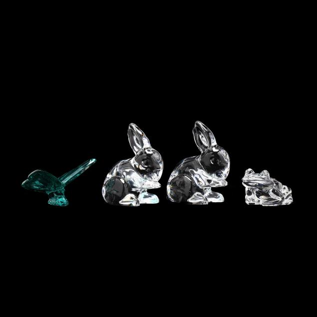 waterford-four-crystal-animals