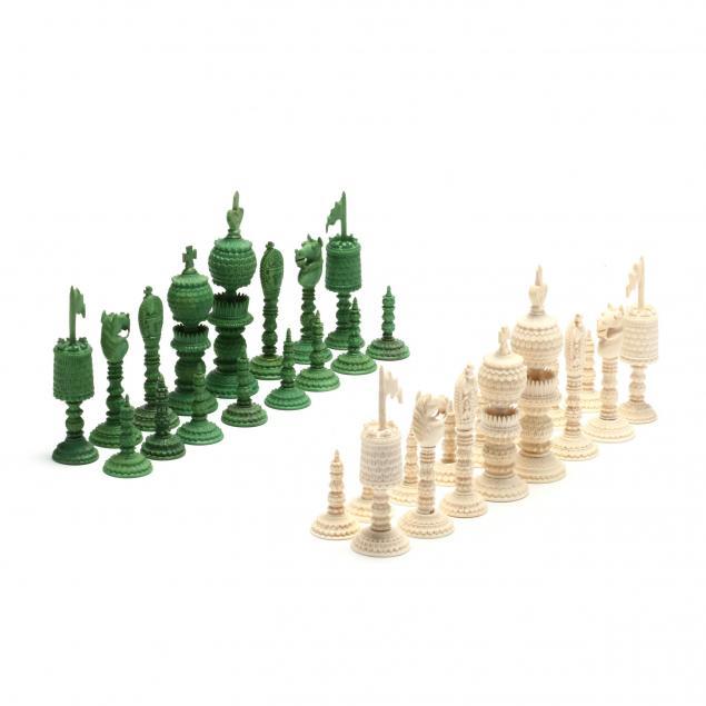 vizagapatam-burmese-ivory-chess-set