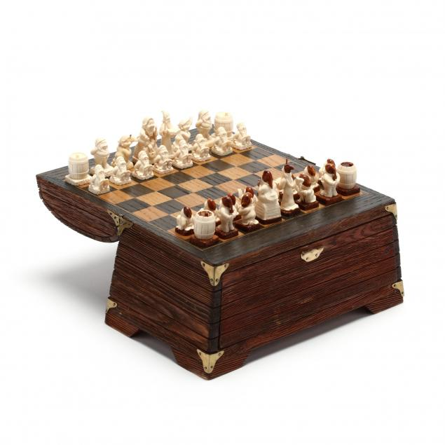 miniature-carved-ivory-dwarf-figural-chess-set-cased-in-box-with-board