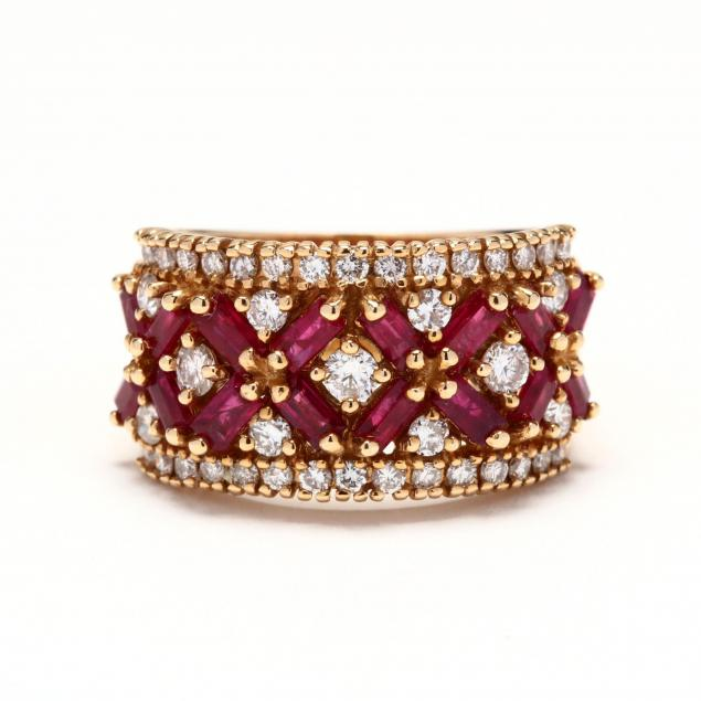 14kt-gold-diamond-and-ruby-ring