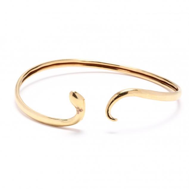 18kt-gold-serpent-choker-lalaounis