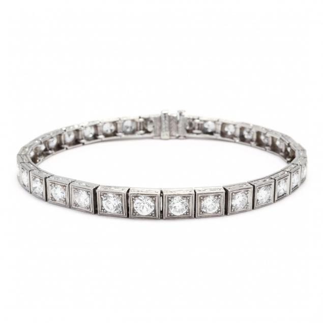 vintage-platinum-and-diamond-bracelet