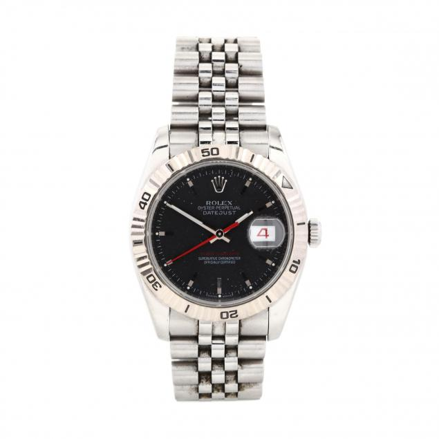 gent-s-stainless-steel-and-white-gold-oyster-perpetual-datejust-turn-o-graph-watch-rolex