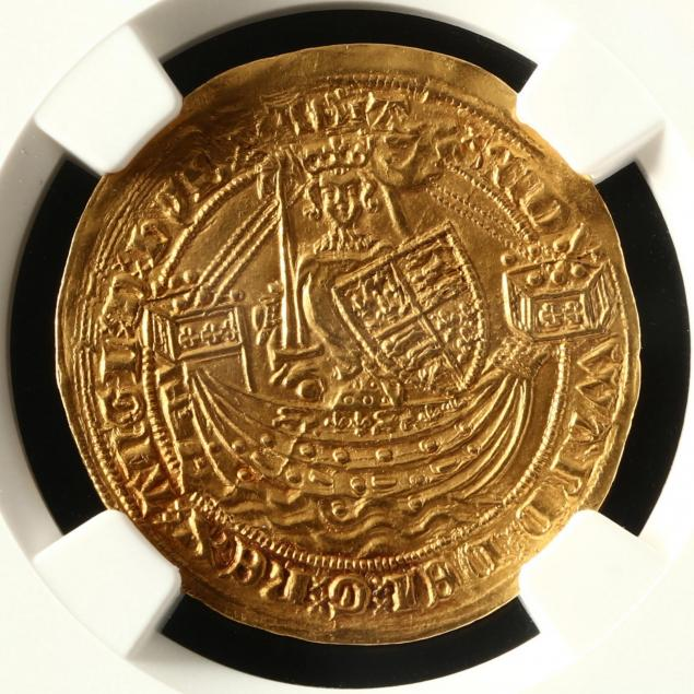 england-edward-iii-1361-1369-gold-half-noble-ngc-ms63