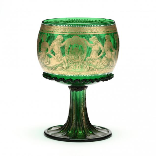antique-venetian-glass-goblet