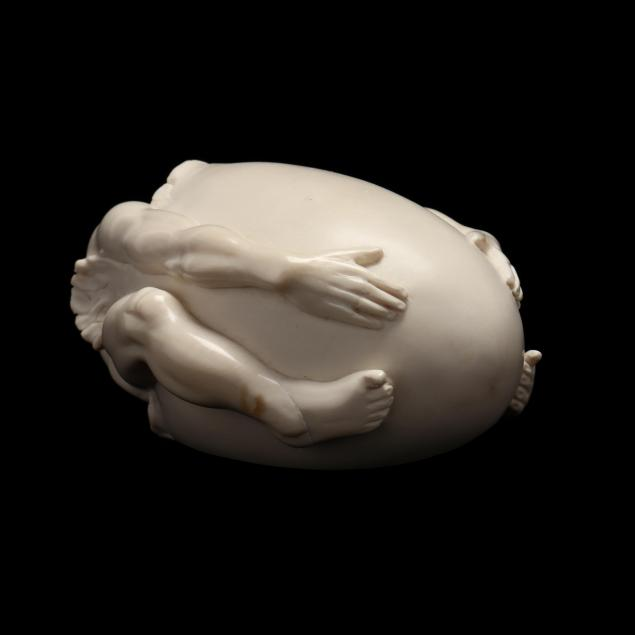 oleg-raikis-russia-20th-century-surreal-carved-mammoth-ivory-sculpture