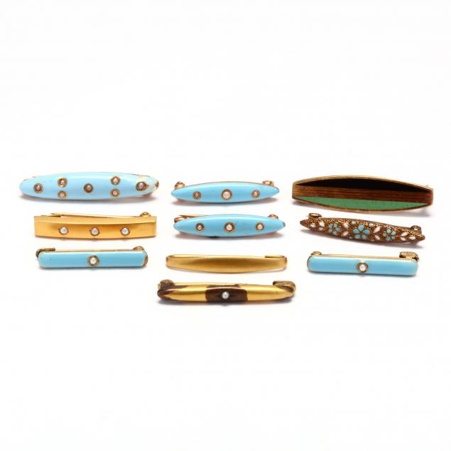 collection-of-ten-antique-lingerie-pins