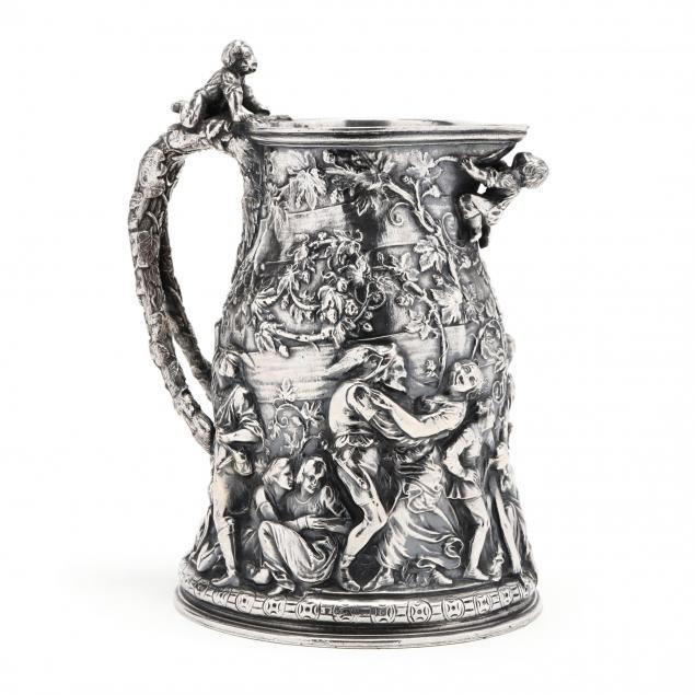 an-antique-italian-silverplate-wine-jug