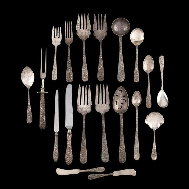 collection-of-baltimore-rose-sterling-silver-flatware