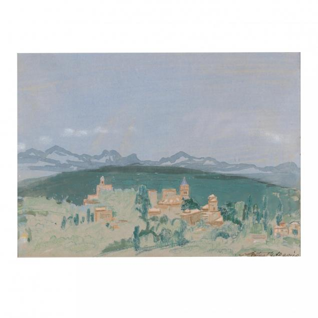 arthur-b-davies-american-1862-1928-italian-landscape