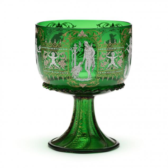 venetian-enamel-decorated-goblet