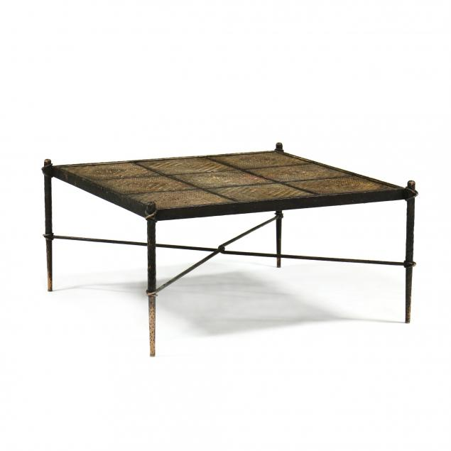 giacometti-inspired-custom-iron-and-cane-coffee-table