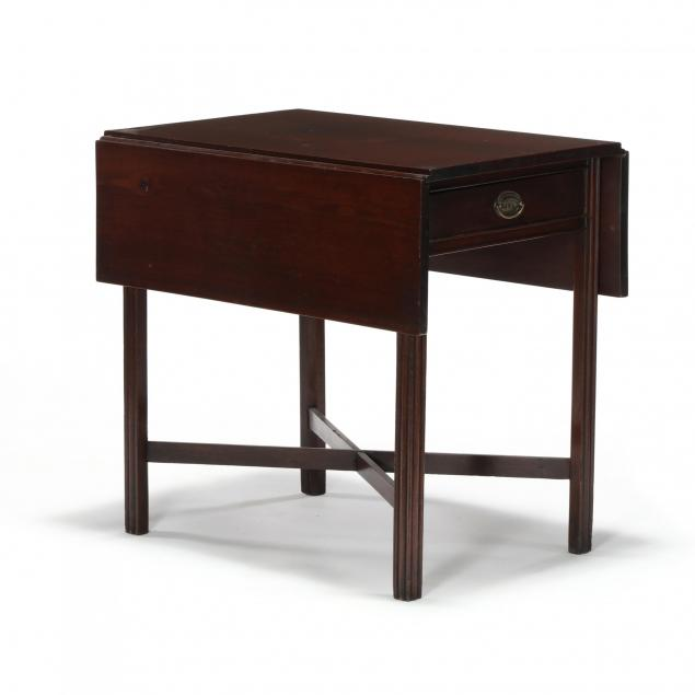 southern-chippendale-mahogany-pembroke-table