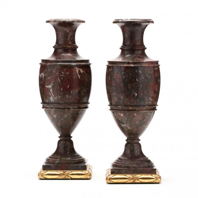 pair-of-classical-style-carved-marble-mantel-urns