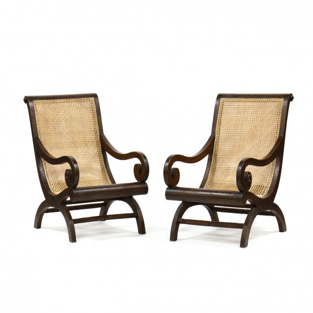 pair-of-mahogany-campeche-armchairs