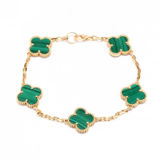 18kt-gold-and-malachite-alhambra-bracelet-van-cleef-arpels