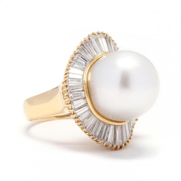 18kt-gold-pearl-and-diamond-ring