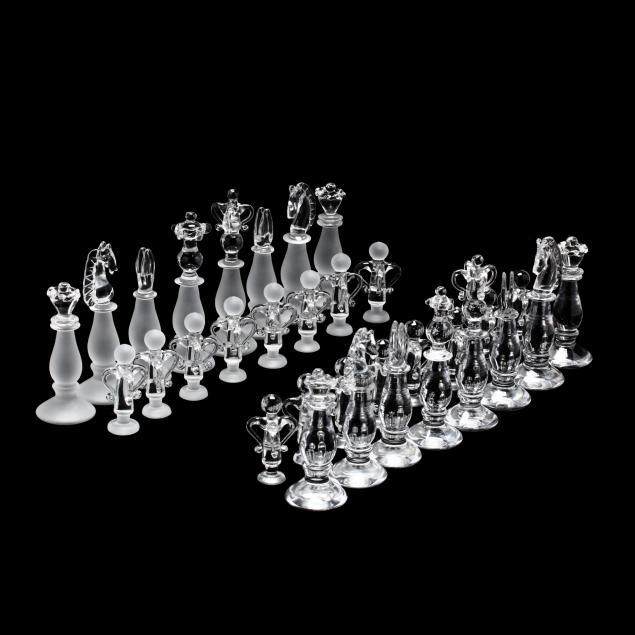 king-albert-edward-crystal-chess-set