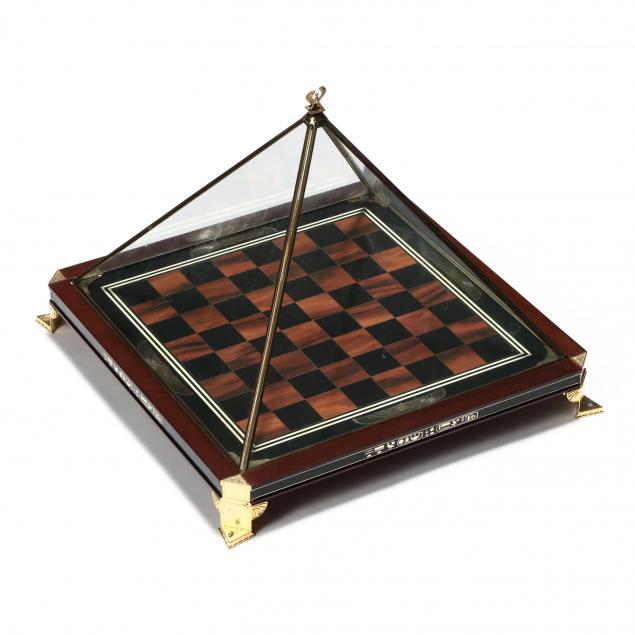 franklin-mint-limited-edition-treasures-of-tutankhamen-chess-board