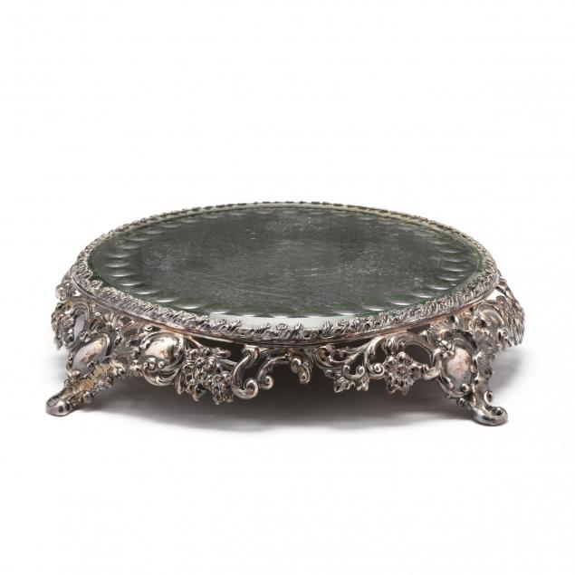 a-pairpoint-silverplate-mirrored-plateau