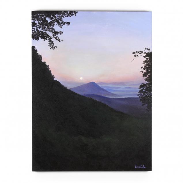 louis-dupree-nc-blue-ridge-mountain-sunset
