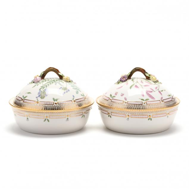 a-pair-of-royal-copenhagen-flora-danica-covered-vegetables
