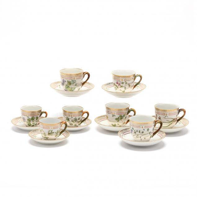 a-selection-of-16-royal-copenhagen-flora-danica-cups-saucers