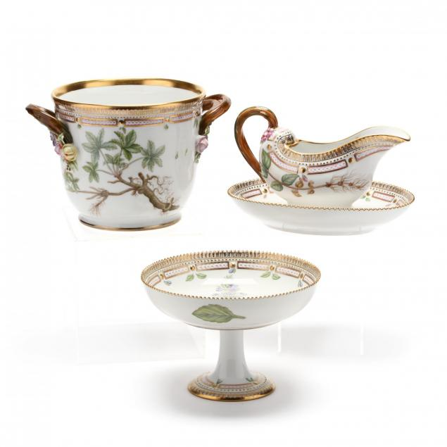 three-royal-copenhagen-flora-danica-porcelain-table-accessories