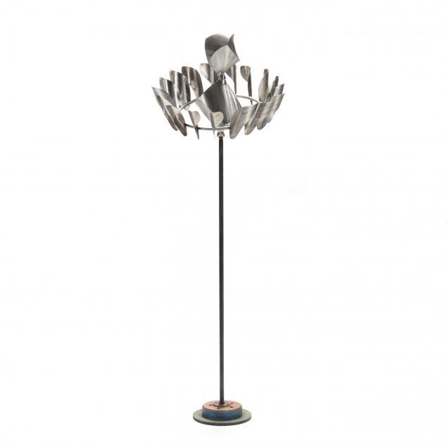 mike-roig-nc-modern-steel-assemblage-outdoor-whirligig
