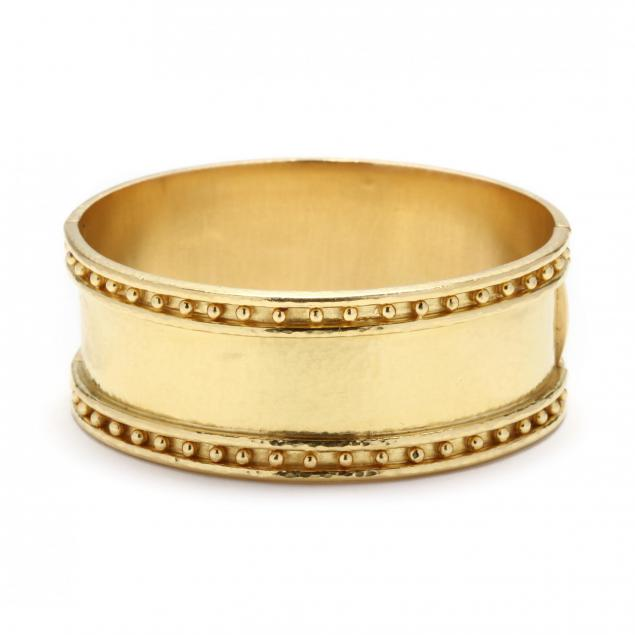 19kt-gold-bangle-bracelet-elizabeth-locke