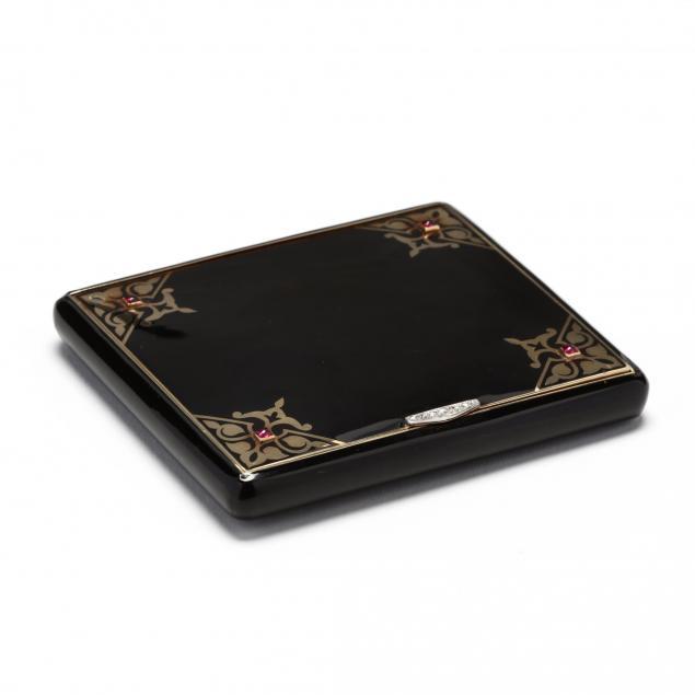 art-deco-14kt-gold-enamel-and-gem-set-case-cartier